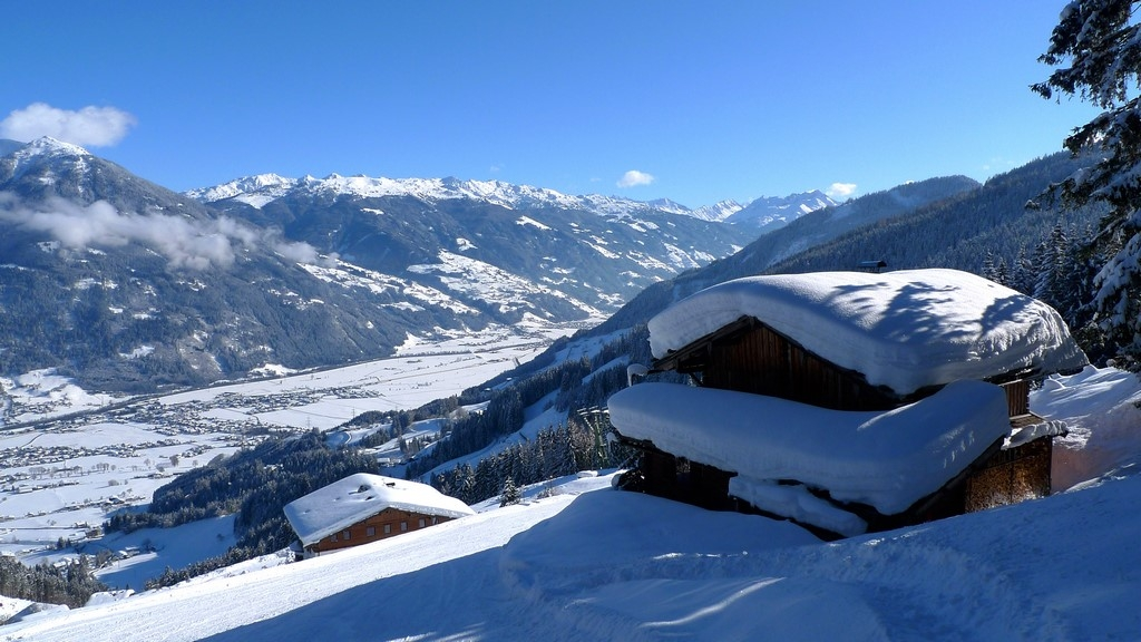 Reliable snow in Ziller valley